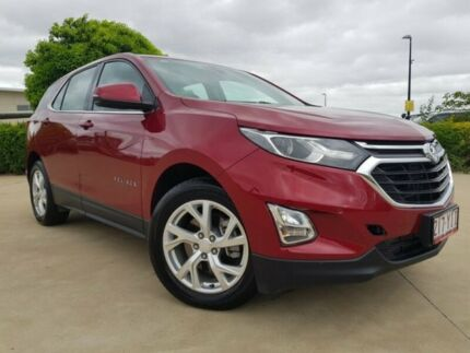 2017 Holden Equinox EQ MY18 LT FWD Glory Red 9 Speed Sports Automatic Wagon Garbutt Townsville City Preview