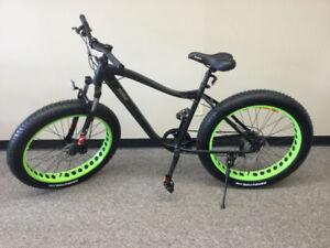 ON SALE!  15% off, Fat tire mountain bike