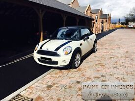 Mini One Convertible 2015, low mileage and excellent condition both inside and out.
