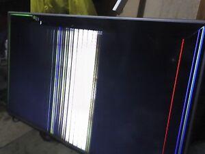"LG 55"" LED LCD TV HDTV - Broken Screen, for Parts"