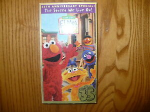 Sesame Street 35th Anniversay Special The Street We Live On VHS