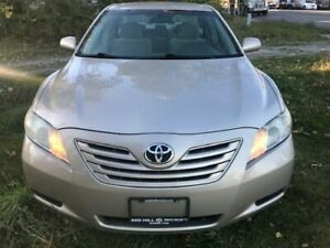 2009 Toyota Camry LE,PW,PL,AC,AM CD PLAYER, CERTIFIED