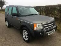 2007 57 LAND ROVER DISCOVERY 3 TDV6 XS DIESEL