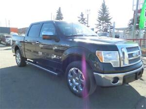 2010 FORD LARIAT F-150 4X4/LOADED LEATHER 5.4L AUTO