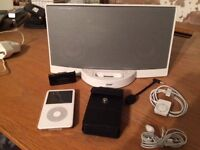 Apple ipod, Bose Sounddock and Accessories