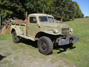 Power wagons 1941 to late 50s