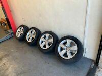 Genuine Volkswagen Alloys Alloy Wheels 205/55/16