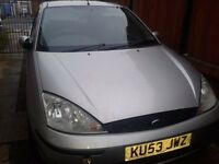 BREAKING FORD FOCUS MK1 2.0 ZETEC MOONDUST SILVER