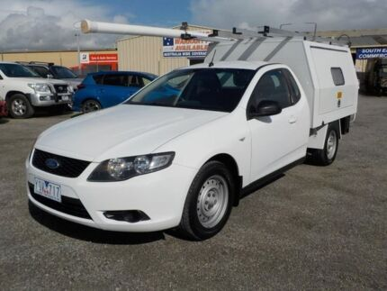 2010 Ford Falcon White Sports Automatic Cab Chassis
