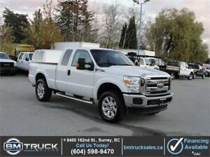 2014 FORD F-250 SUPER DUTY XLT EXT CAB SHORT BOX 4X4