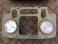 Land Rover Series 1, 1 x Grill With Lights - Classic Parts