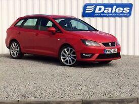 Seat Ibiza ST 1.2 TSI FR 5Dr (red) 2013