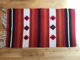 Large Colourful Woven Rug