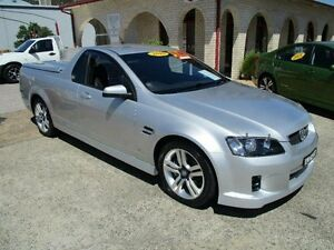 2010 Holden Commodore VE MY10 SV6 Silver 6 Speed Automatic Utility South Nowra Nowra-Bomaderry Preview