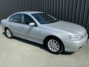 2005 Ford Falcon BA MkII Futura Silver 4 Speed Auto Seq Sportshift Sedan