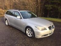 2004 04 BMW 5 SERIES 2.5 525D SE TOURING 5D 175 BHP DIESEL