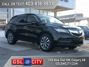 2015 Acura MDX W/ All Wheel Drive, 3.5L V6, Navigation Pkg