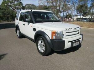 2006 Land Rover Discovery 3 S White 6 Speed Automatic Wagon Gilles Plains Port Adelaide Area Preview