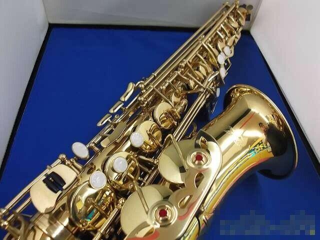Alto Saxophone KAERNTNER KAL-62 Gold Eb F# with Black Case from Japan