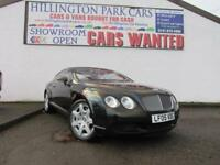 2005 Bentley Continental 6.0 auto GT, 53000 MILES FULL BENTLEY HISTORY