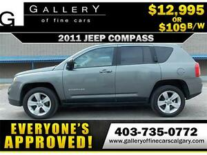 2011 Jeep Compass North $109 bi-weekly APPLY NOW DRIVE NOW