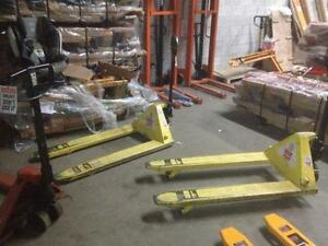 Used very good condition pump trucks pallet trucks