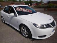 60 SAAB 9-3TTiD ( 180ps ) TURBO EDITION //LEATHER///£30 AYEAR ROAD TAX