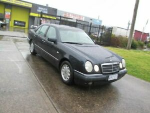 1997 Mercedes-Benz E230 W210 Elegance Black 5 Speed Automatic Sedan Epping Whittlesea Area Preview