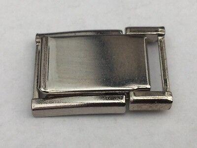 Watch Bracelet  Clasp Stainless Steel 11MM INSIDE 16MM OUTSIDE STEEL
