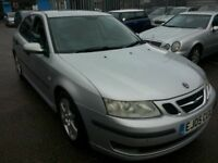 SAAB 9-3 VECTOR 1.9TID 2005 REG DIESEL ALLOYS LEATHER PARKING SENSORS