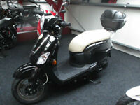 Sym Fiddle 124.6cc III 125.finance available only £99 dep subject to status