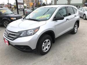 2013 Honda CR-V LX AWD ...CAMERA, BLUETOOTH...MINT COND.