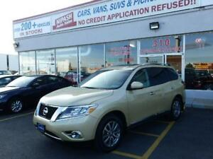 2013 Nissan Pathfinder SL CAMERA,DVD 7 PASSENGERS NO ACCIDENTS
