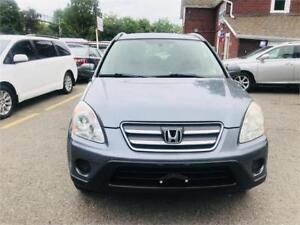 2006 Honda CR-V EX-L - certified- accident @rust free clean suv