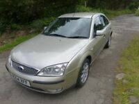 FOR SALE FORD MONDEO 1.8 LX PETROL SALOON 5 DOOR HATCH