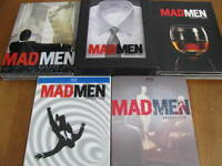 MAD MEN saison 1-2-3 en DVD et saison 4-5 en BLU-RAY