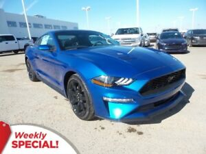 2018 Ford Mustang EcoBoost-Black Appearance Pack, Bluetooth, USB
