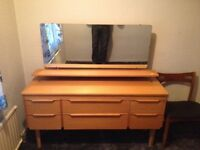 Dresser, with large mirror, stunning item.