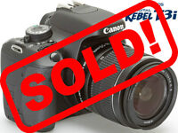 Canon EOS Rebel T3i 18.0MP Digital SLR Camera with SOLD