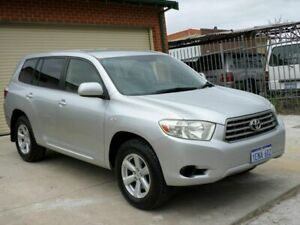 2009 Toyota Kluger GSU40R KX-R 2WD Silver 5 Speed Sports Automatic Wagon Mount Lawley Stirling Area Preview