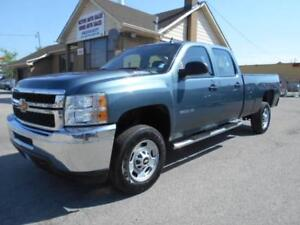 2012 CHEVROLET Silverado 2500HD Crew Cab 8ft Box ONLY 41,000KMs