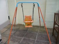 toys r us Children Folding Nursery Swing for indoors / outdoors BH5