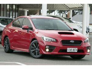 2014 Subaru WRX V1 MY15 Premium AWD Red 6 Speed Manual Sedan Christies Beach Morphett Vale Area Preview