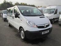 Vauxhall Vivaro 2900 2.0Cdti 115Ps LWB Combi 2.9T Euro 5 9 Seater DIESEL (2013)