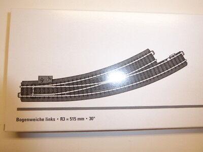 Märklin 24771 schlanke Bogenweiche links  R3, 30° Neuware