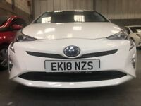 PCO CAR RENATL- 2 WEEKS FREE RENT ON A 12 MONTHS CONTRACT(T&C) -TOYOTA PRIUS 2018 MODEL-UBER READY