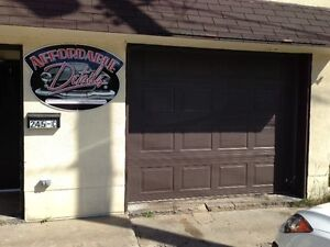 Garage space for lease on Mttawa St INCLUSIVE!!