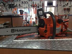 USED Husqvarna 55 Chainsaw Serviced New Bar and Chain