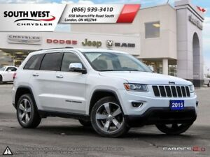 2015 Jeep Grand Cherokee | Limited | Leather | Sunroof | 8.4 Scr