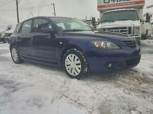 2005 MAZDA3 HATCHBACK AUTOMATIC ALL ELECTRIC 8 TIRES MAGS